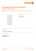 Spécifications Osram Smart+ Switch Mini blanc