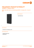 Data sheet Osram Smart+ Switch Mini black