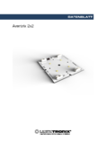 Data sheet Aventrix 2x2, LED-Modul, 60x65mm