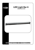 Data sheet Showtec LED Light Bar 8