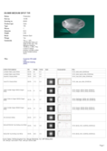 Datasheet Carclo lens 20mm for Cree, Osram, Nichia, Luxeon and Seoul, frosted medium