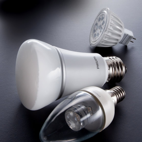Affordable LED lamps from Osram & Philips